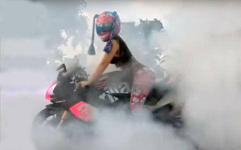 Подсчитали: каждый пятый мотоциклист — девушка