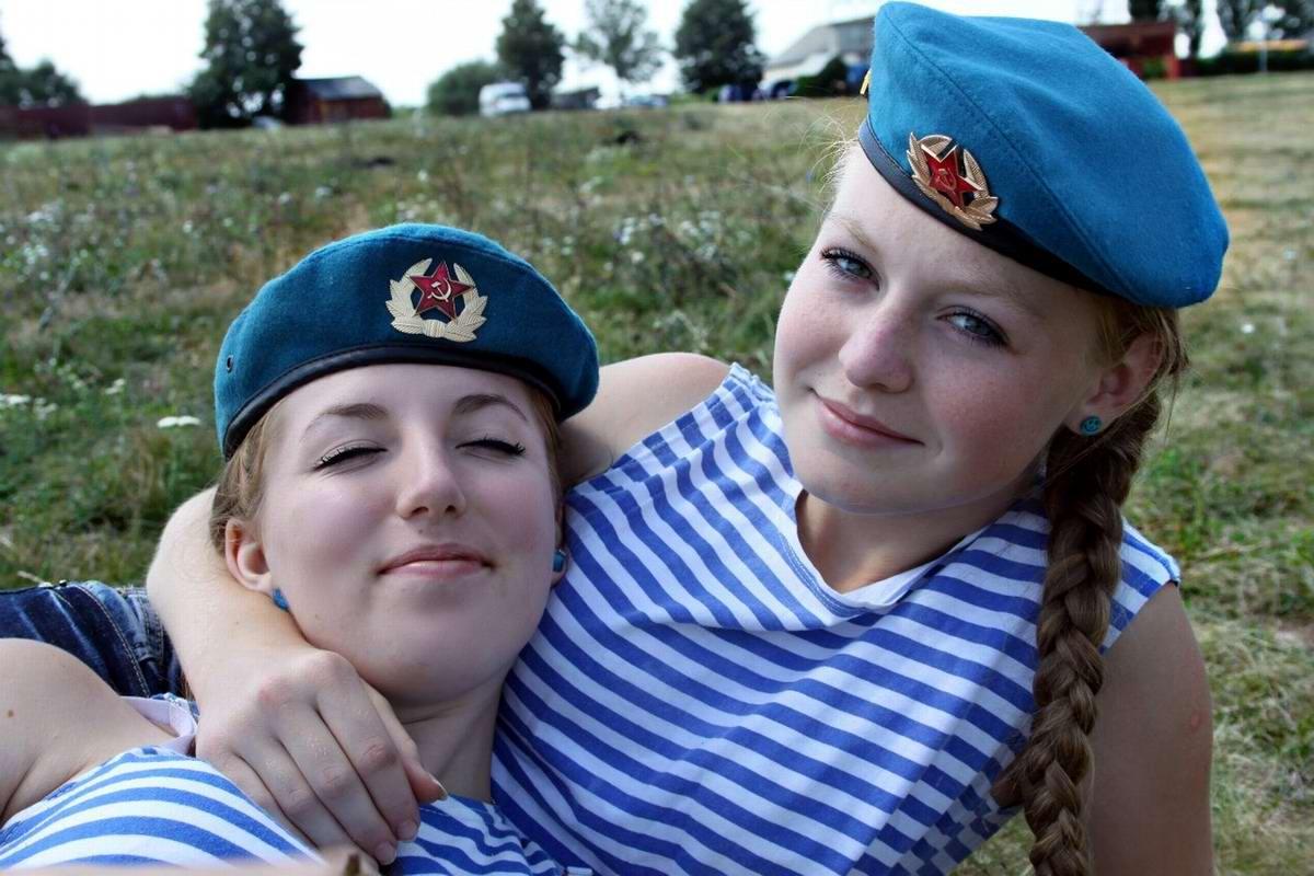 Картинки десантников и девушек