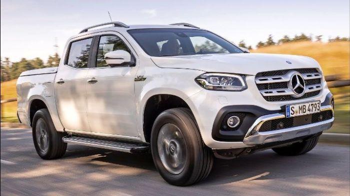 У большинства водителей пикапы ассоциируются с трудягой-грузовиком, поэтому платить 3 миллиона за Mercedes-Benz X-Class готовы немногие.   Фото: pinterest.com.