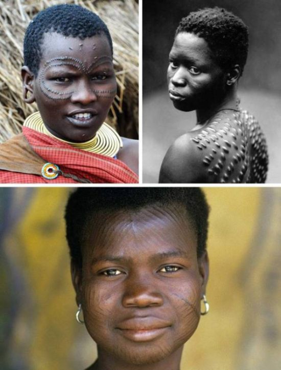 Необычные понятия красоты у разных народов мира