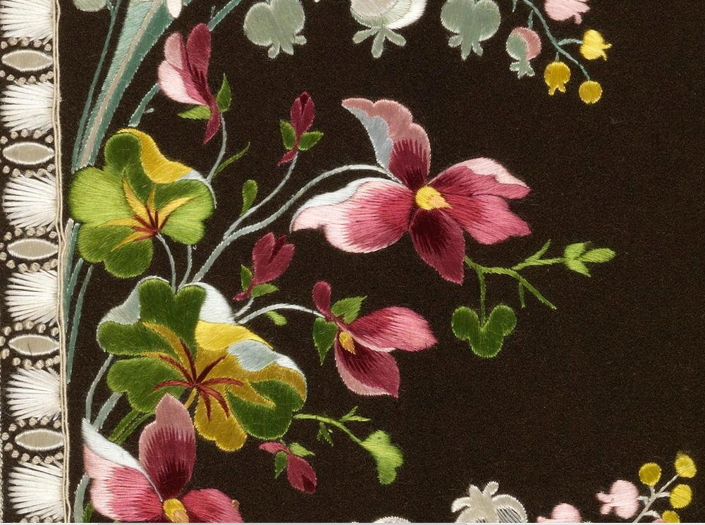 Образцы старинных вышивок 1770-1790 годов вышивка,рукоделие