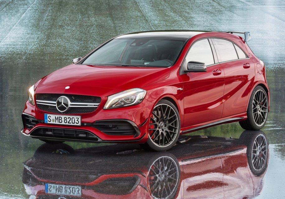 Mercedes-AMG A45 станет 400-…