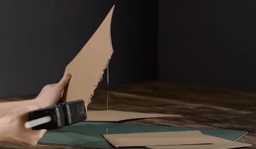 Потрясающий волшебный домик из обычного картона прикладное