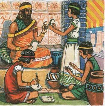 Косметология древних шумеров