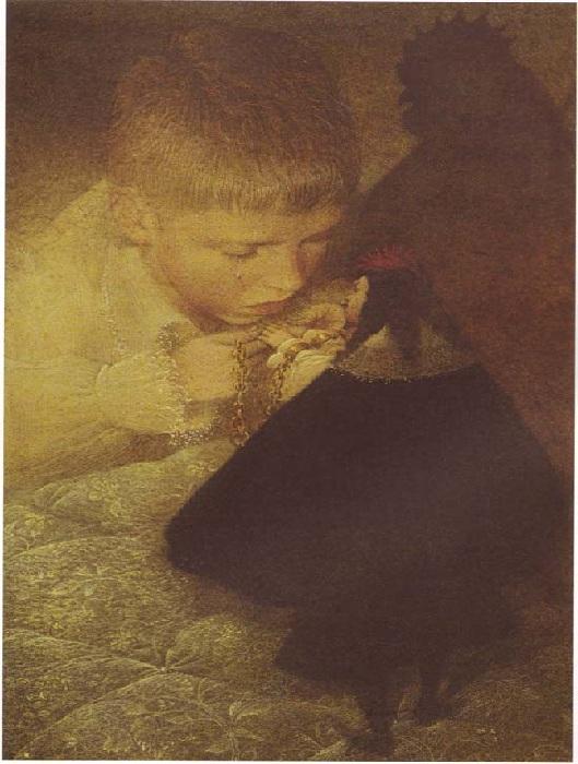 Чёрная курица, или Подземные жители. Иллюстрации от Геннадия Спирина.