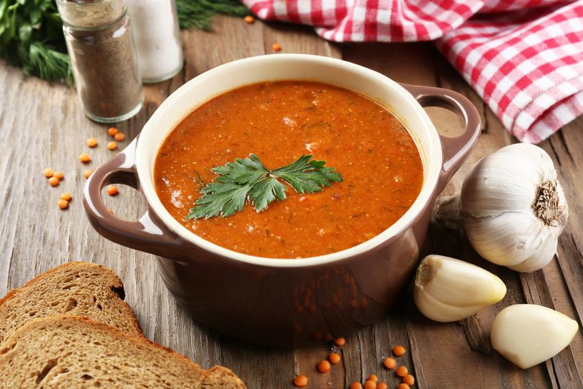 Вкусный чечевичный суп-пюре