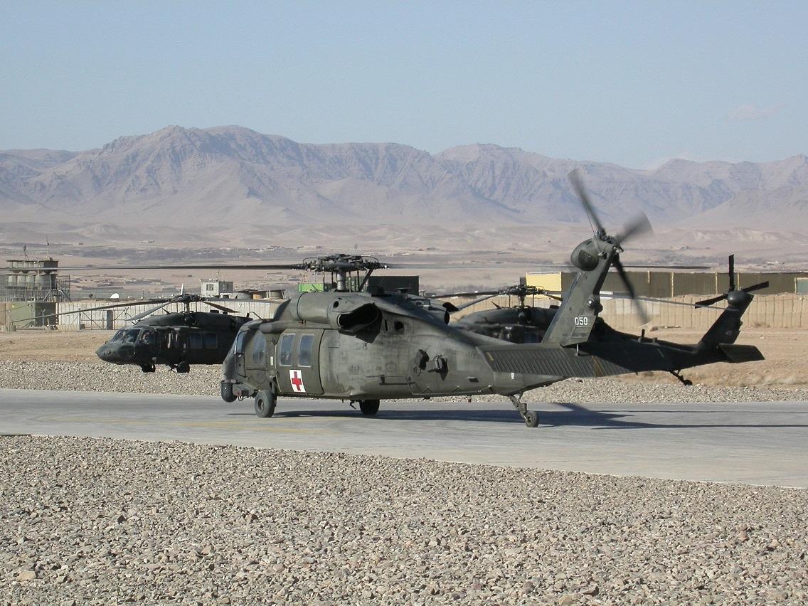 США планируют поставить Афганистану 159 вертолетов UH-60A Black Hawk