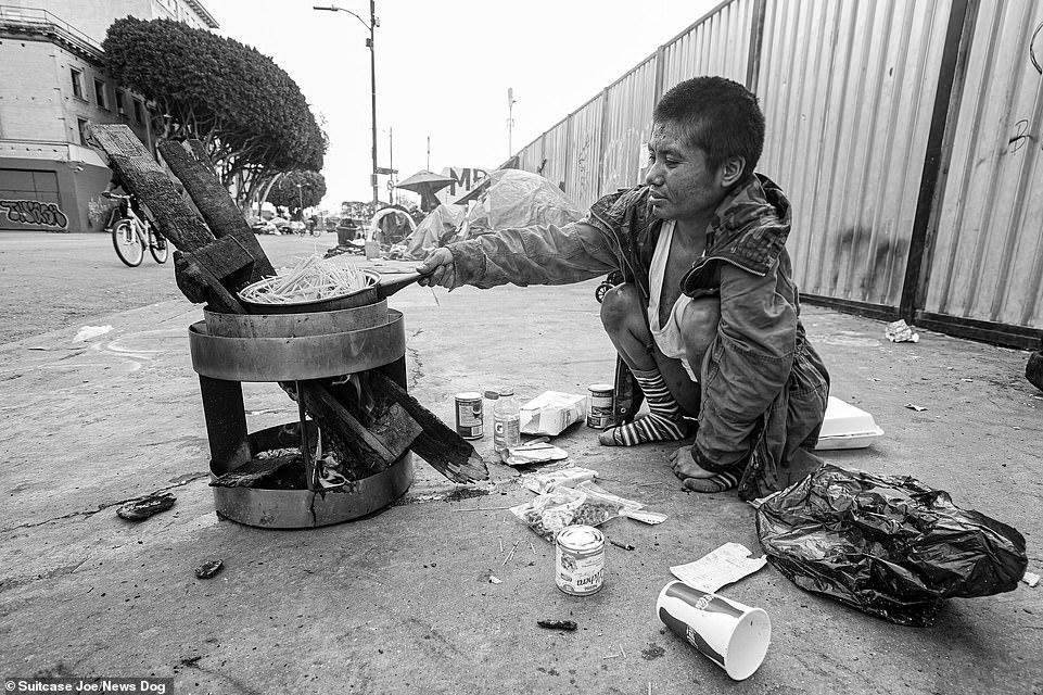 Жизнь на Скид Роу: мир бездомных Лос-Анджелеса