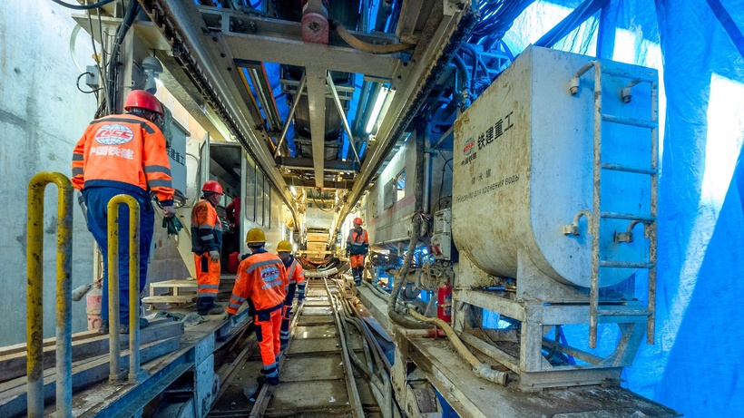 4 тоннеля достроили между станциями метро «Аминьевское шоссе» и «Проспект Вернадского»