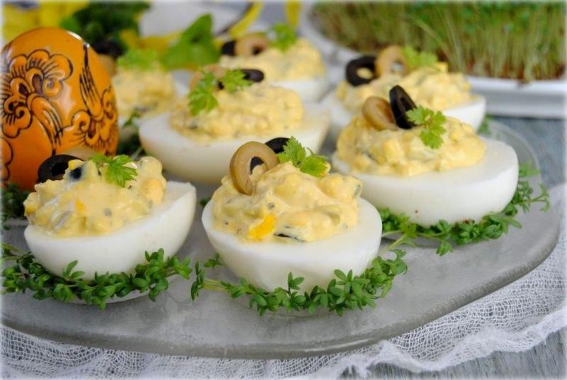 можно закуска из яиц рецепт с фото единое