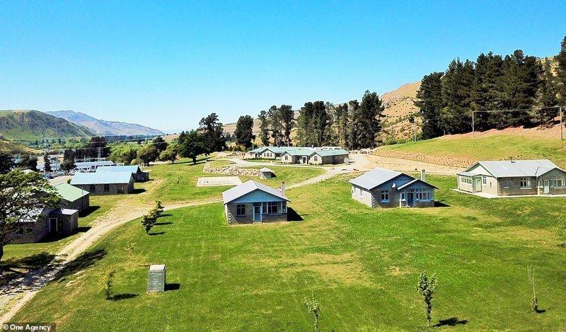 В Новой Зеландии на продажу выставили заброшенную деревню ynews, деревня, жилье, заброшенные места, новая зеландия, новости, продажа, фото