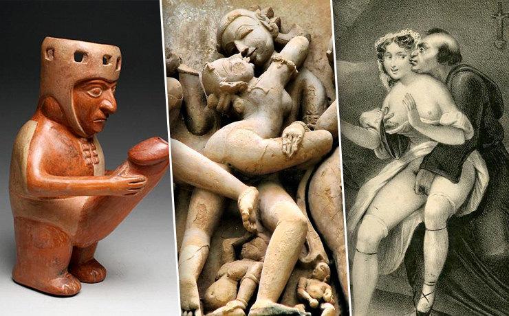 Самые развратные сцены вистории искусств