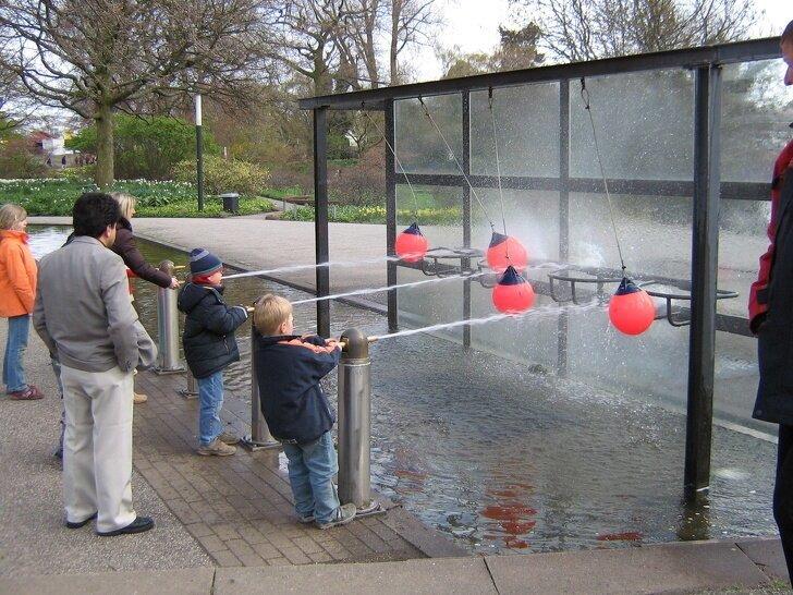 Детские площадки в Германии выглядят как бесплатные парки аттракционов страны, факты, это интересно