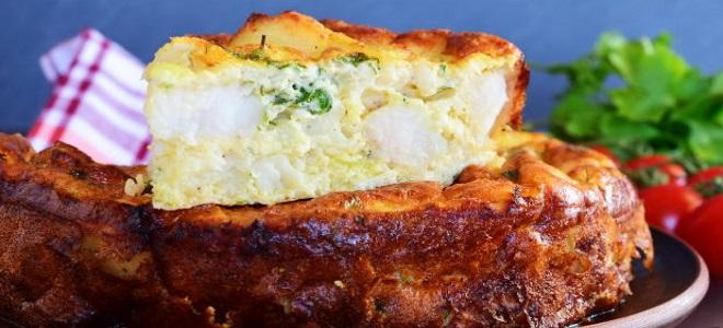 пирог с пикшей