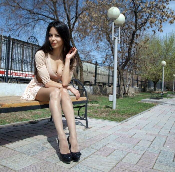 Красивые девушки в социальных сетях (50 фото)