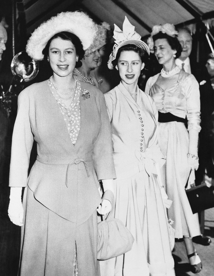 королева елизавета и маргарет фото коллекционера