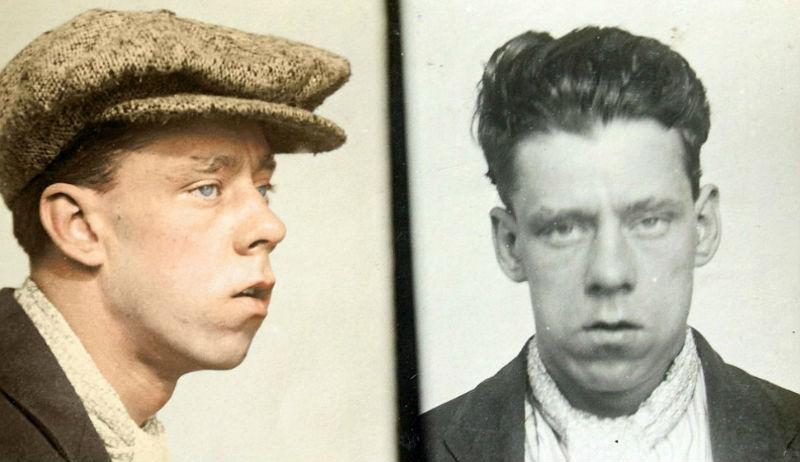 Гоп-стоп, мы не боимся Скотленд-Ярд: цветные снимки преступников 1930-х
