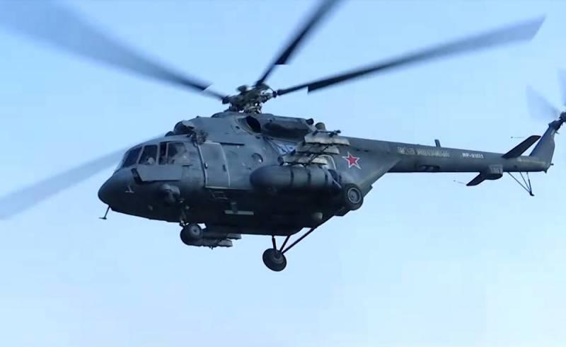 На Украине объяснили, почему не был сбит российский Ми-8, якобы нарушивший границу