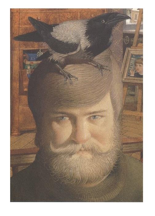 Автопортрет художника. Геннадий Спирин.