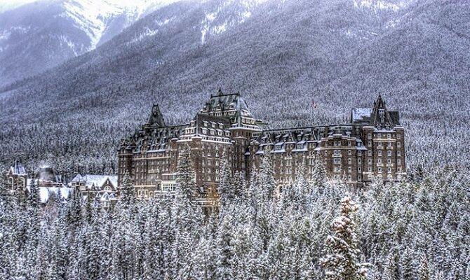 20. Отель «Банф-Спрингс» – Альберта, Канада история, привидения, факты
