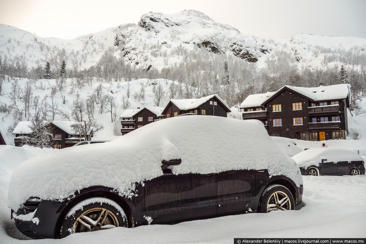 Как выживают зимой в Норвегии?