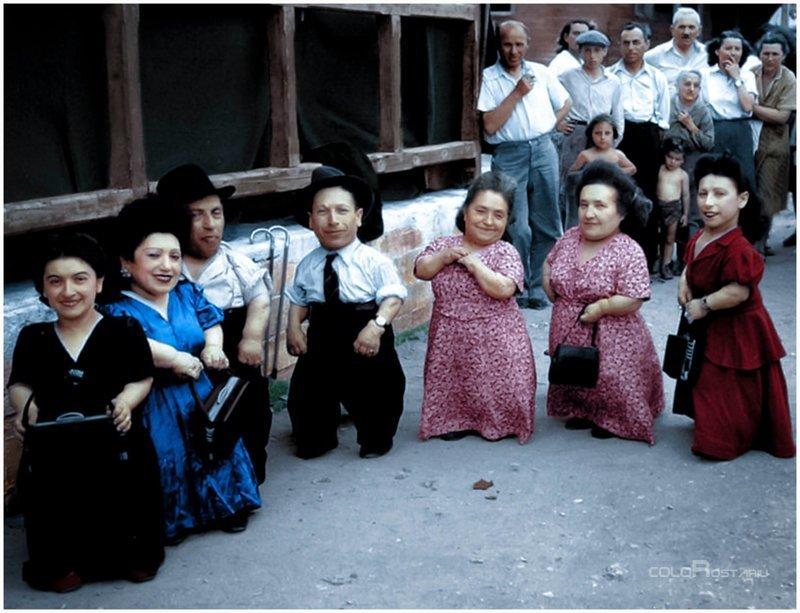 Удивительная история еврейской семьи лилипутов-музыкантов, переживших Холокост