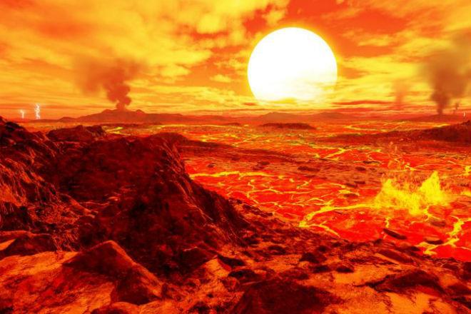 Венера: мир кислоты на орбите Солнца