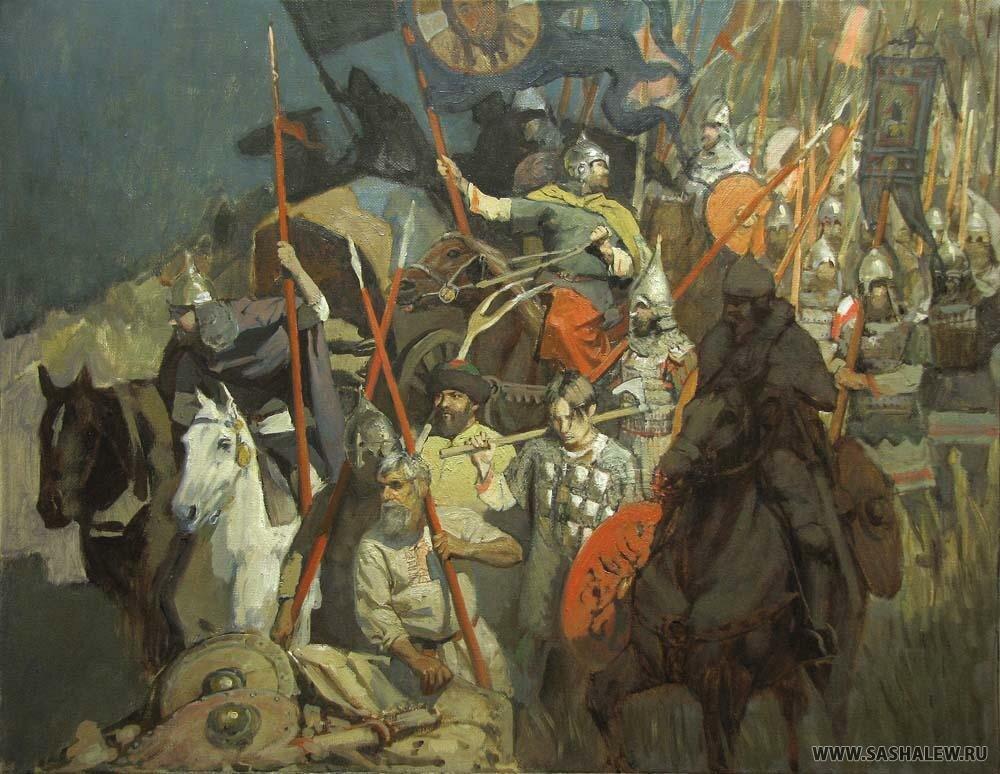 дмитрий донской войска картинки ангел