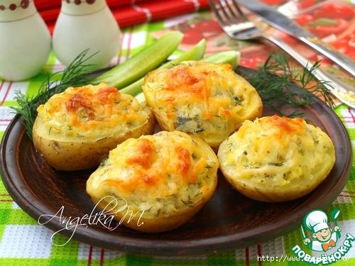 """Сырная """"Крошка-картошка"""" домашнего приготовления"""