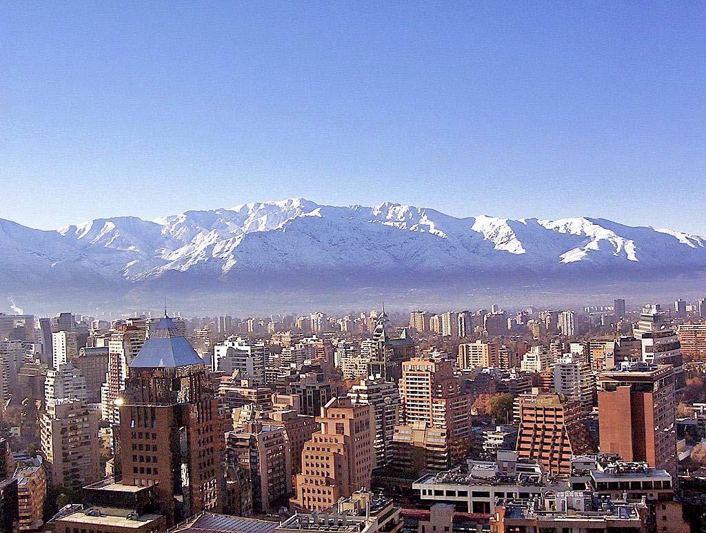 Сантьяго самый необычный город на земле