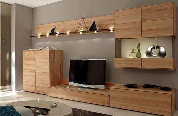 большая стенка в гостиную в современном стиле, фото 27