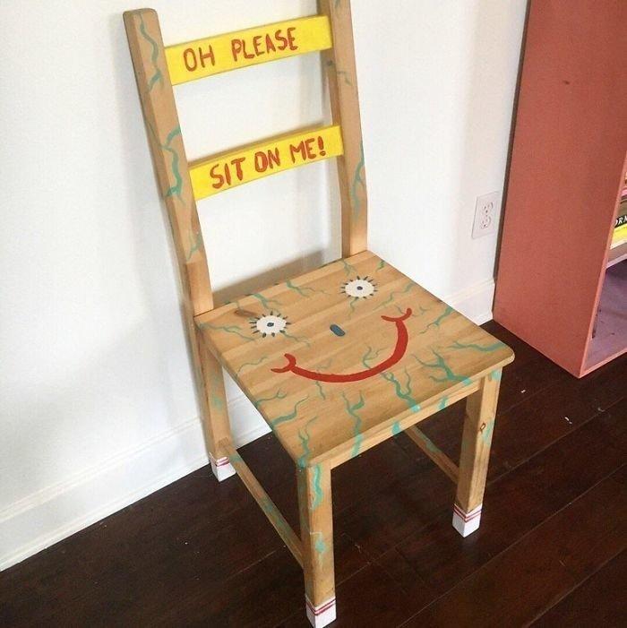 Солнышко, стул смешные картинки