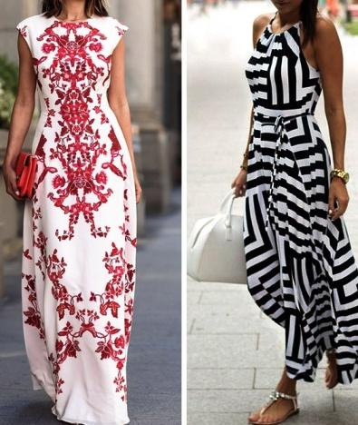 9 идей для платьев в пол, которые выглядят соблазнительнее, чем мини Каждый образ — просто бомба!