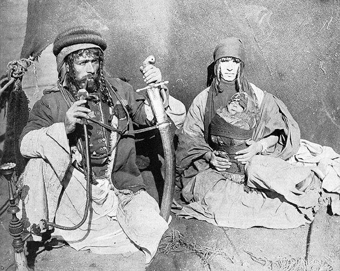 Сирийские бедуины, 1893.
