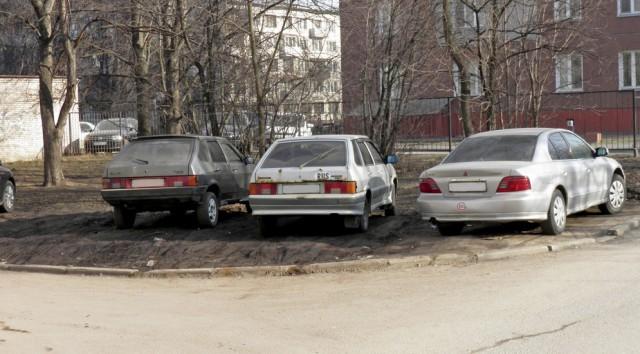 Парковка на газоне более НЕ наказуема
