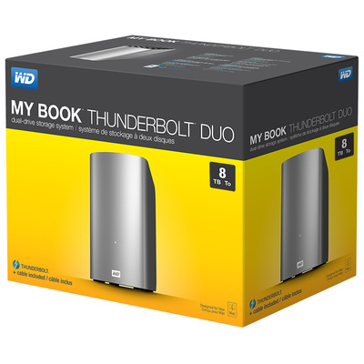 WD My Book Thunderbolt Duo — как хранить фото владельцам MAC
