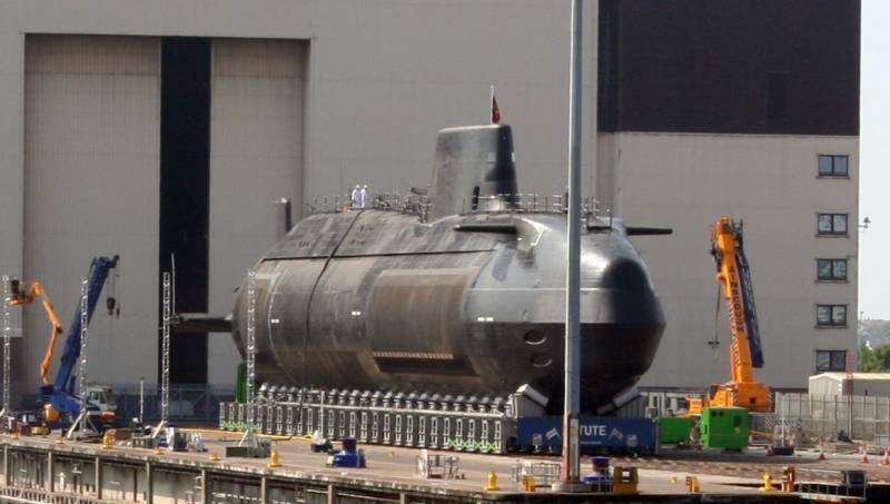 Многоцелевые атомные подлодки типа Astute. Проблемы и их причины вмф
