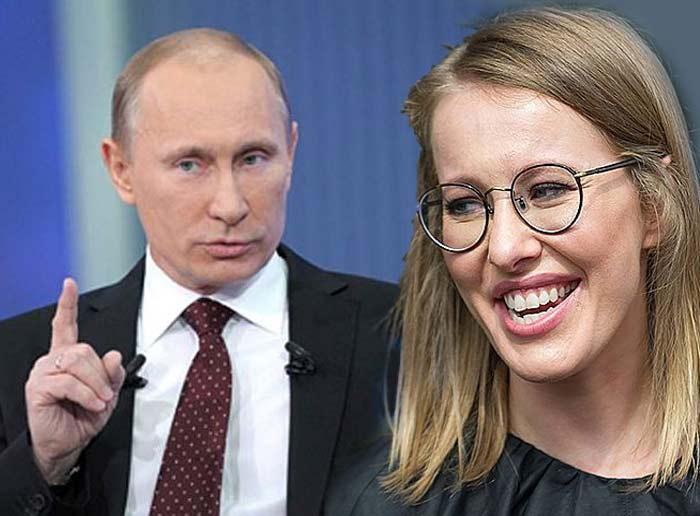 Собчак хочет: сдать Донбасс,…