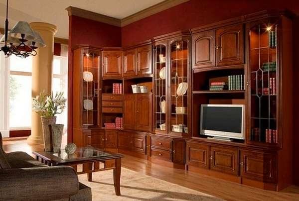 современные стенки в гостиную, фото 2