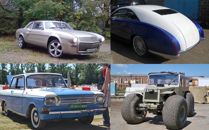 10 самодельных автомобилей, которые просто восхитительны