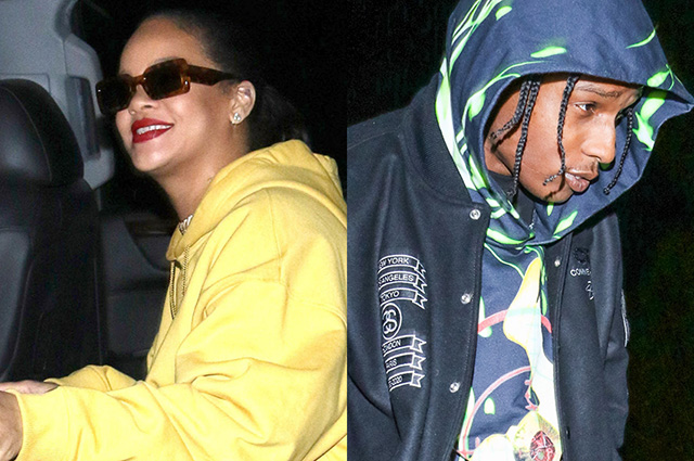 Рианна вновь спровоцировала слухи о своем романе с рэпером A$AP Rocky