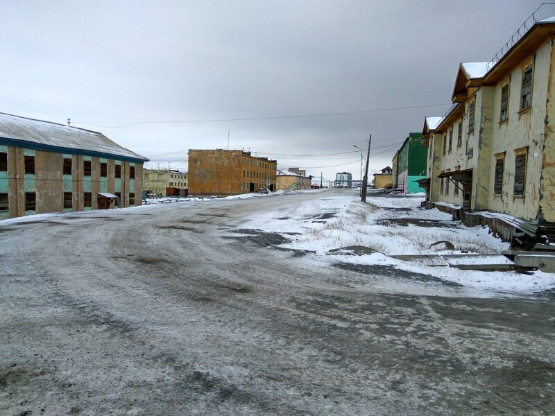 Посёлок Тикси — крупнейший порт Моря Лаптевых
