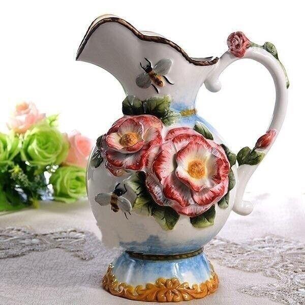 Чудесная посуда, которая создаёт настроение!  Хотели бы такую? handmake,разное,стекло и керамика