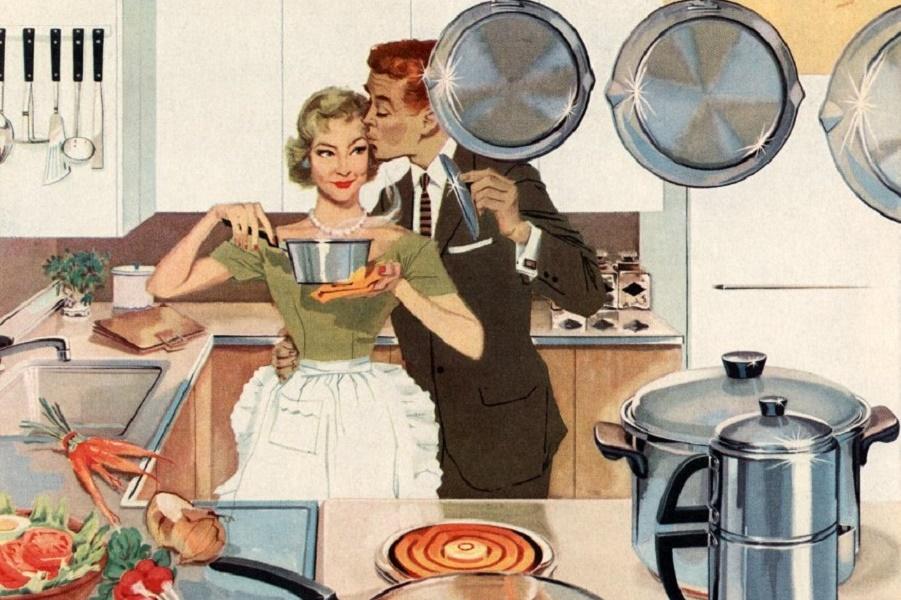 Веселые картинки о женщинах на кухне