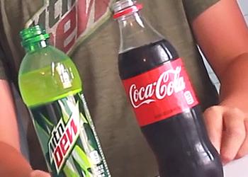 Блогеры три недели выдерживали зубы в Coca-Cola и Mountain Dew