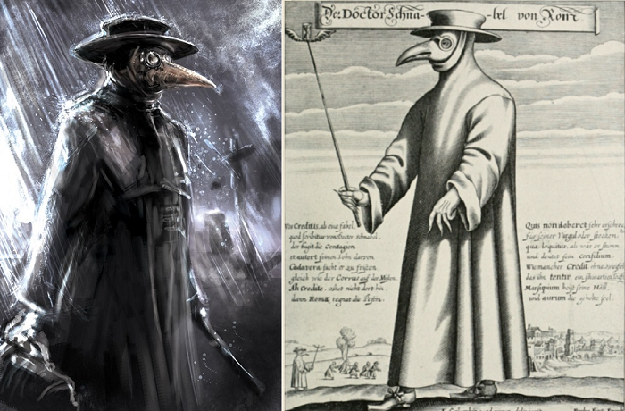 Зачем на самом деле чумные доктора носили маски в виде клюва