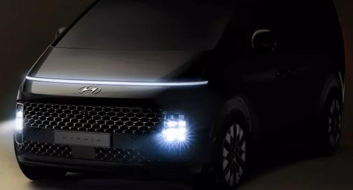 Hyundai показал первые изображения минивэна Staria, который похож на космический корабль Автомобили
