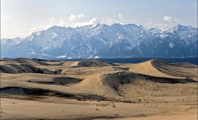 «Сахара» в Сибири. Как выглядит настоящая пустыня рядом с Байкалом Культура