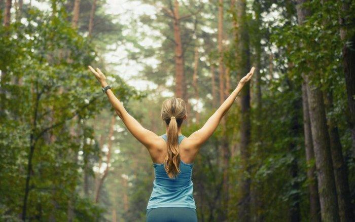Гормоны счастья: почему лучшие идеи приходят во время принятия душа или на природе