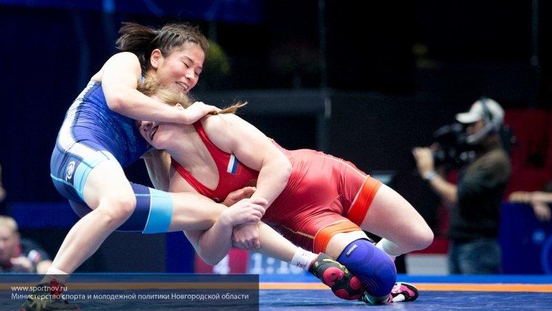 Половину женской сборной по борьбе составили девушки из Московской области